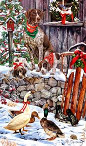 shop for cards german shorthair pointer christmas cards