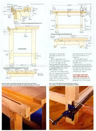 Woodworking Bench Top by Woodwork Bench Plans U2022 Woodarchivist