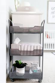 Metal Changing Table Walt And S Neutral Nursery Nursery Organization