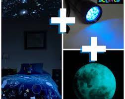 Glow In The Dark Star Ceiling by Glow In The Dark Stars Moon Package For Kids Room Or Nursery