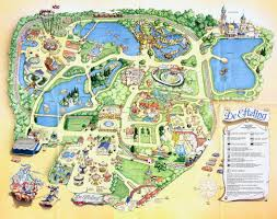 Six Flags New England Park Map Efteling