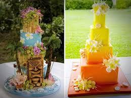 hawaiian themed wedding cakes amazing hawaiian wedding cakes sheriffjimonline