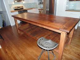 Kitchen Island Made From Reclaimed Wood Hand Crafted Reclaimed Wood Farmhouse Kitchen Island By Wonderland