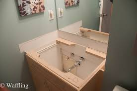 bathroom wall mount sink lowes how to install a bathroom sink