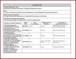 employee corrective template design employee employee action plan