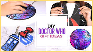 diy doctor who fandom gift ideas doctor who diy projects