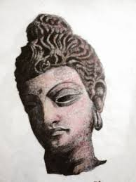 my pencil sketches lord buddha