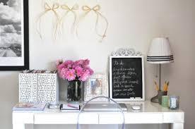 Cute White Desk Gold And Gray Desk Design