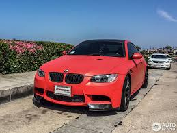 Bmw M3 Red - frozen red limited edition m3 spotted in california autoevolution