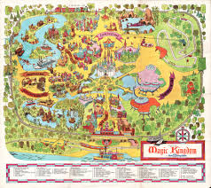 Map Of Walt Disney World by Walt Disney World Souvenir Park Map Orlando Florida 19 U2026 Flickr