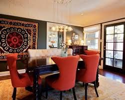 Inspiring Red Upholstered Dining Room Chairs  In Dining Room - Red dining room chairs