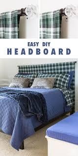 easy diy headboard simple diy headboard for the guest room in my own style