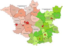 Map Of Frankfurt Germany by Regierungsbezirk Frankfurt Wikipedia