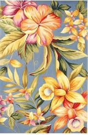 hawaiian style floral rugs the hawaiian home