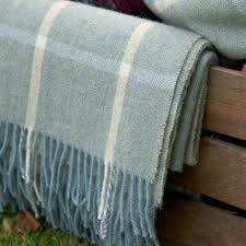 Bedroom Ideas Using Duck Egg Blue Large Duck Egg Ivory Check Shetland Wool Throw Home And Garden