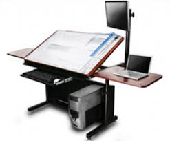 Drafting Table And Desk Drafting Table Computer Desk Combo Google Search Rooms