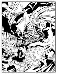 preview art from image comics u0027 spawn coloring book u2014 geektyrant