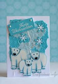 craft a card polar bears
