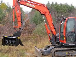 brown new brown mini excavator mulcher for sale in plano tx key