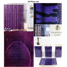 Zebra Shower Curtain by Eggplant Shower Curtain Simple Best 25 Purple Shower Curtains