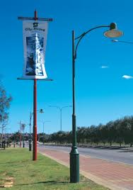 decorative street light poles poles and structures for street and highway lighting