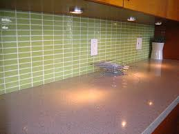 DIY Saturday  Installing A Glass Tile Backsplash Subway - Green glass backsplash tile