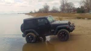 beach jeep wrangler my jeep wrangler on the beach youtube