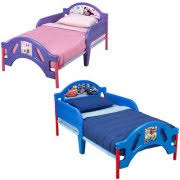 Todler Beds Disney Pixar Cars Wooden Toddler Bed Walmart Com