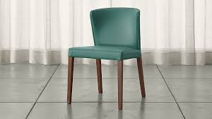 Teal Dining Room Chairs Curran Teal Dining Chair In Dining Chairs Reviews Crate And Barrel