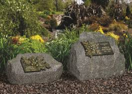 memorial rocks cremation plaques and stones