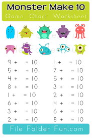 make 10 worksheets free worksheets library download and print