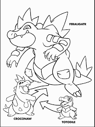 pokemon coloring pages totodile pokemon 13 coloring pages coloring book