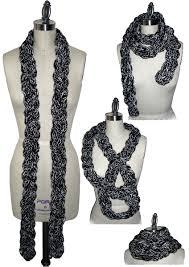 braided scarf accesories luani fashion en