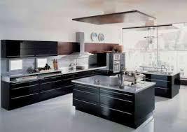 cuisine moderne noir et blanc carrelage cuisine en noir et blanc 22 intérieurs inspirants