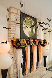 halloween garlands spooky halloween decorating staged styled as you can surmise is