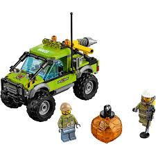 halloween legos lego city volcano explorers volcano exploration truck building set