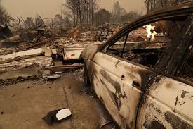 California Wildfires Burn Cars by How California U0027s Firestorm Spread So Mind Bogglingly Fast