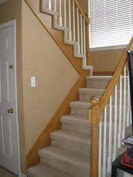 Oak Banister Makeover The Yellow Cape Cod Staircase Makeover Before And After
