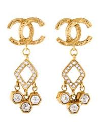 1970s earrings chanel earrings on sale up to 70 at tradesy