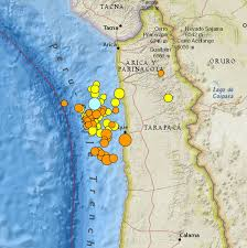 Washington State Earthquake Map by Chile Quake Dominates But Earthquakes Also In Panama And Yellowstone