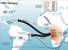 France World Map World Map Slave Trade And Abolition 1800 1900