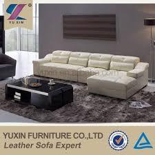 Genuine Leather Sofa Sets Dubai Sofa Furniture Top Grain Leather Corner Sofa Luxury Italian