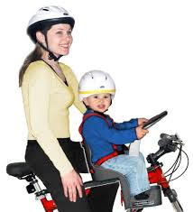 siege weeride weeride safe front mounted children s bike seat ages 1 4