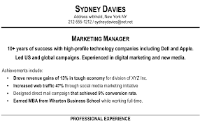 How To Write A Resume For A Job With Experience by How To Write A Resume Summary Resume Example