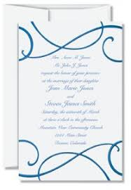 Wedding Invitation Wording From Bride And Groom Wedding Invitation Wording For Complex Relationships Paperdirect