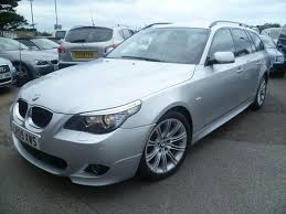 used bmw 5 series estate for sale used bmw 5 series 2009 diesel 520d m sport estate silver with for