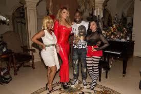 Halloween Costume Floyd Mayweather Parties Mariah Carey Halloween Bash