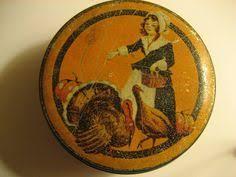 vintage antique paper mache thanksgiving turkey nut cups