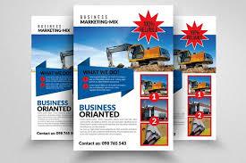 engineering brochure templates civil engineer architect flyer flyer templates creative market