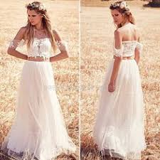 long sleeves backless hippie wedding dresses 2015 a line v neck
